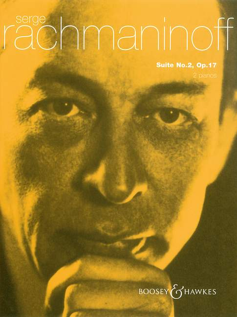 17 Rachmaninoff piano reduction for 2 pianos piano and orchest Suite No 2 op